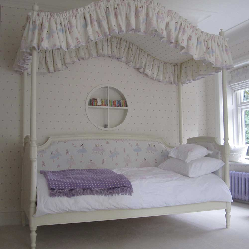 Bespoke Four Post Day Bed