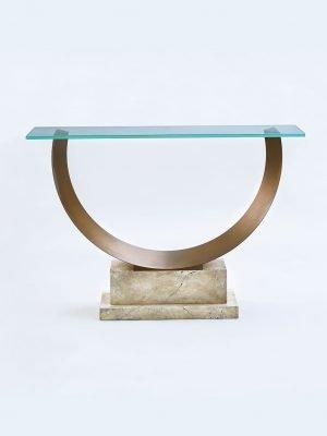 Leporello Evo Contemporary Hoop Console Table